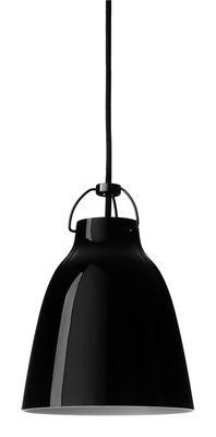 Suspension Caravaggio Small / Ø 16,5 cm - Lightyears noir brillant en métal
