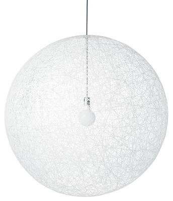 Luminaire - Suspensions - Suspension Random Light /  Large - Ø 110 cm - Moooi - Blanc - Fibre de verre