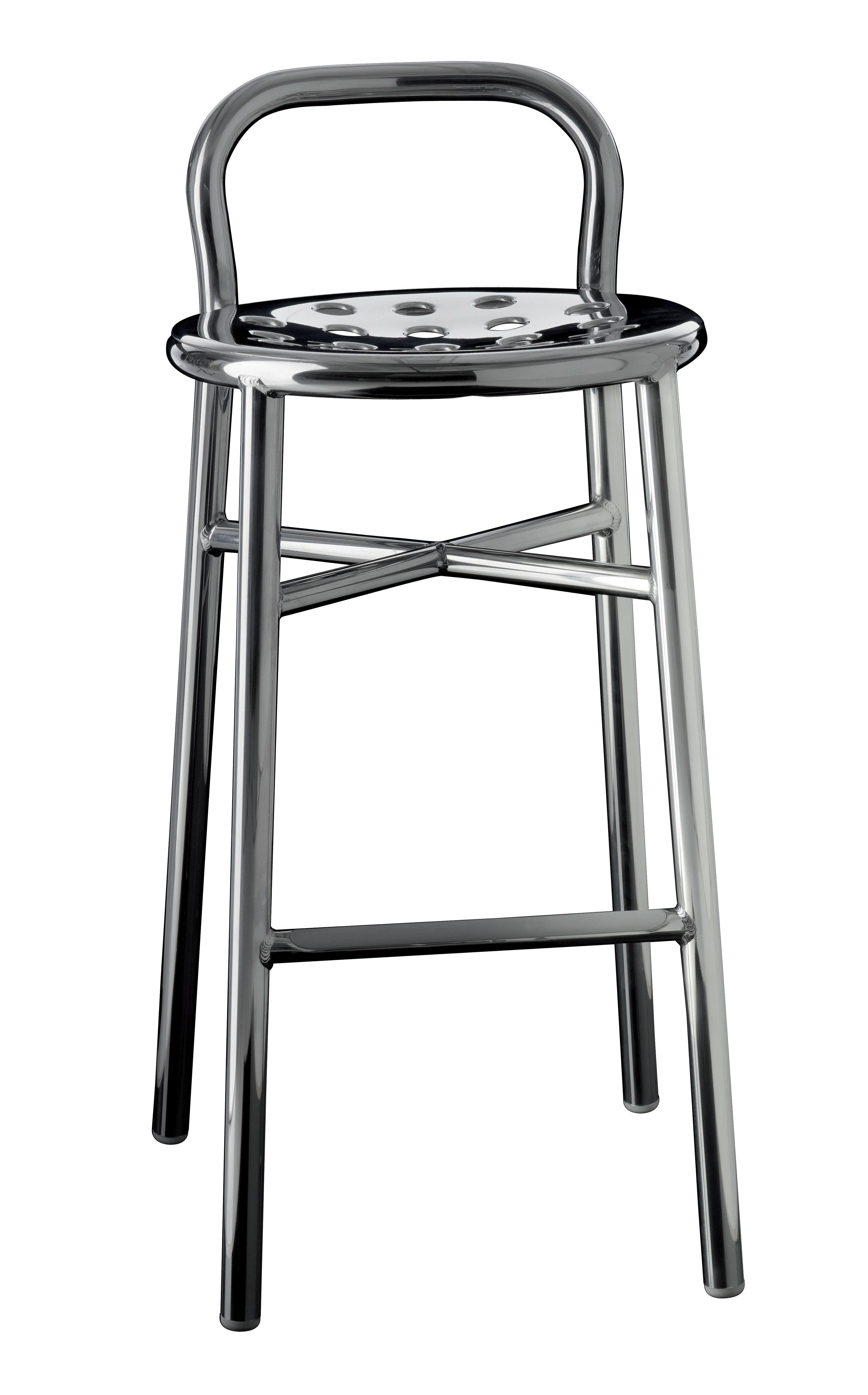 ... Mobilier - Tabourets de bar - Tabouret de bar Pipe   H 77 cm - Métal 02338aa59158