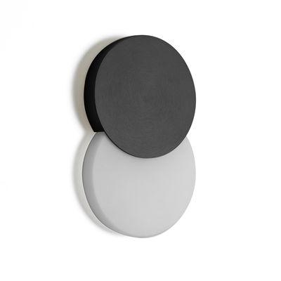 Applique Duo LED - ENOstudio blanc,noir en métal