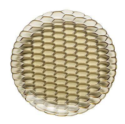 Assiette Jellies Family / Ø 27 cm - Kartell vert en matière plastique