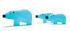 Blue bear Bloc réfrigérant - / Large - L 18 cm by Pa Design