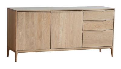 Mobilier - Commodes, buffets & armoires - Buffet Romana / Chêne - L 160 cm - Ercol - Chêne naturel - Chêne massif