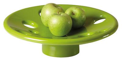 Centre de table Dots / Ø 41 cm - Slide vert en matière plastique