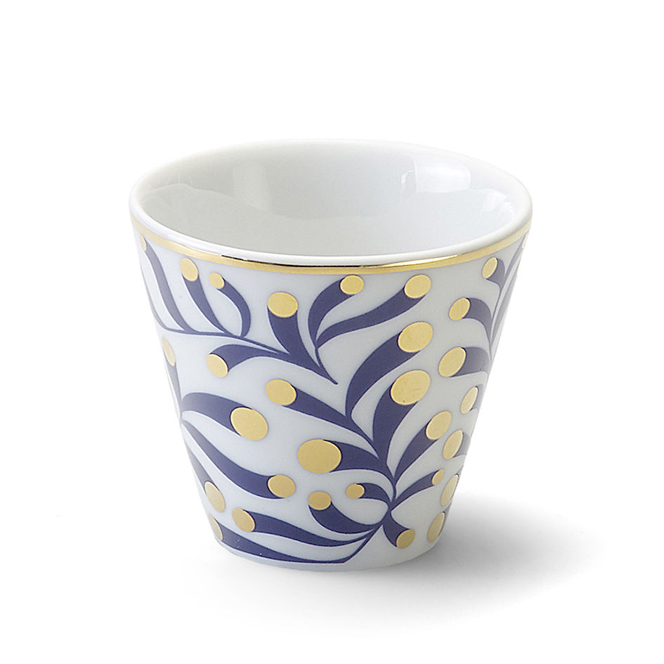 Tableware - Coffee Mugs & Tea Cups - Marina Cup - / Ø 6.5 x H 6 cm by Bitossi Home - Floral - China