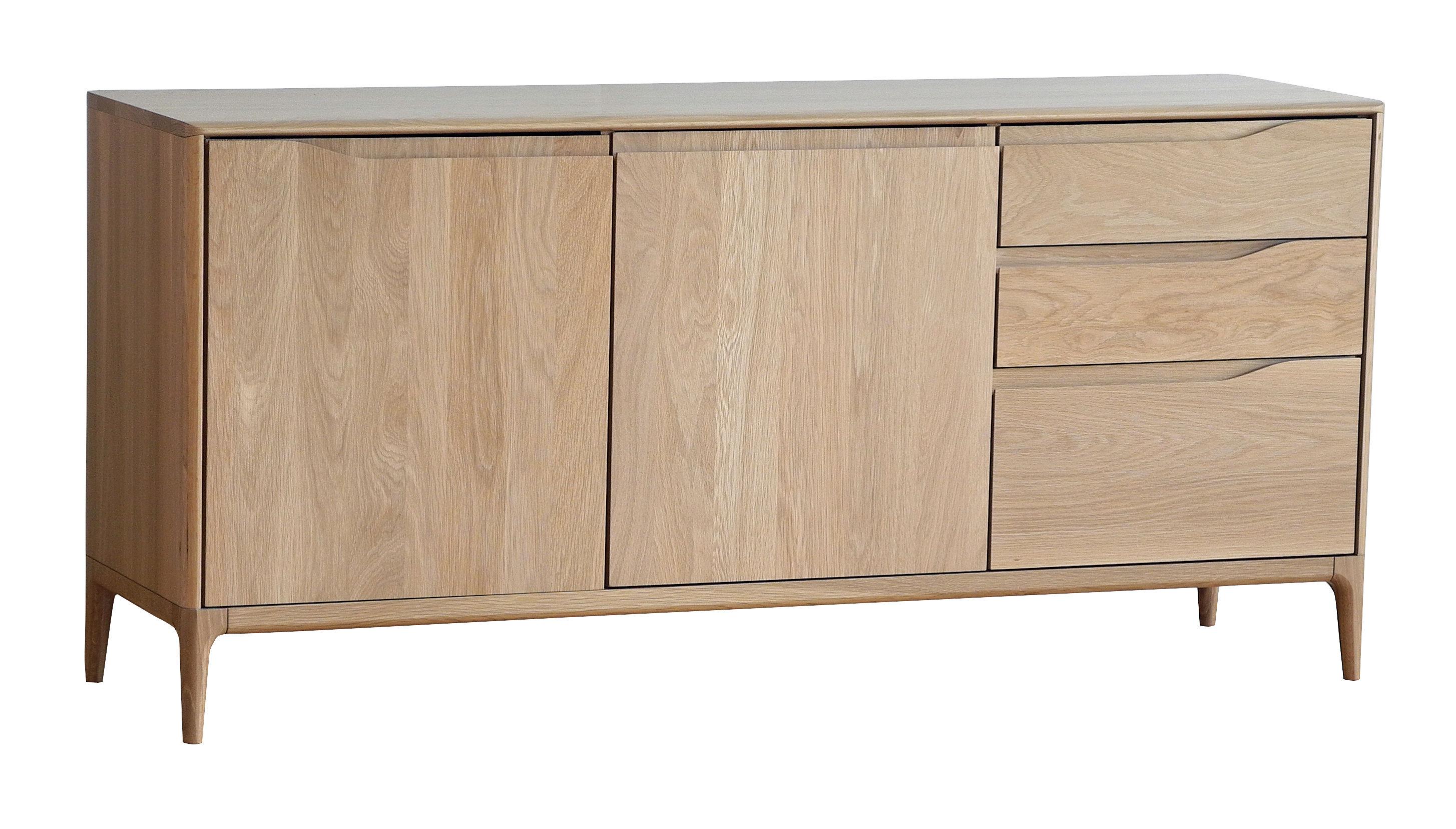 Furniture - Dressers & Storage Units - Romana Dresser - Oak / L 160 cm by Ercol - Natural oak - Solid oak