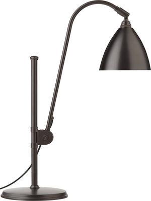 Lampe de table Bestlite BL1 / Réédition de 1930 - Gubi noir en métal