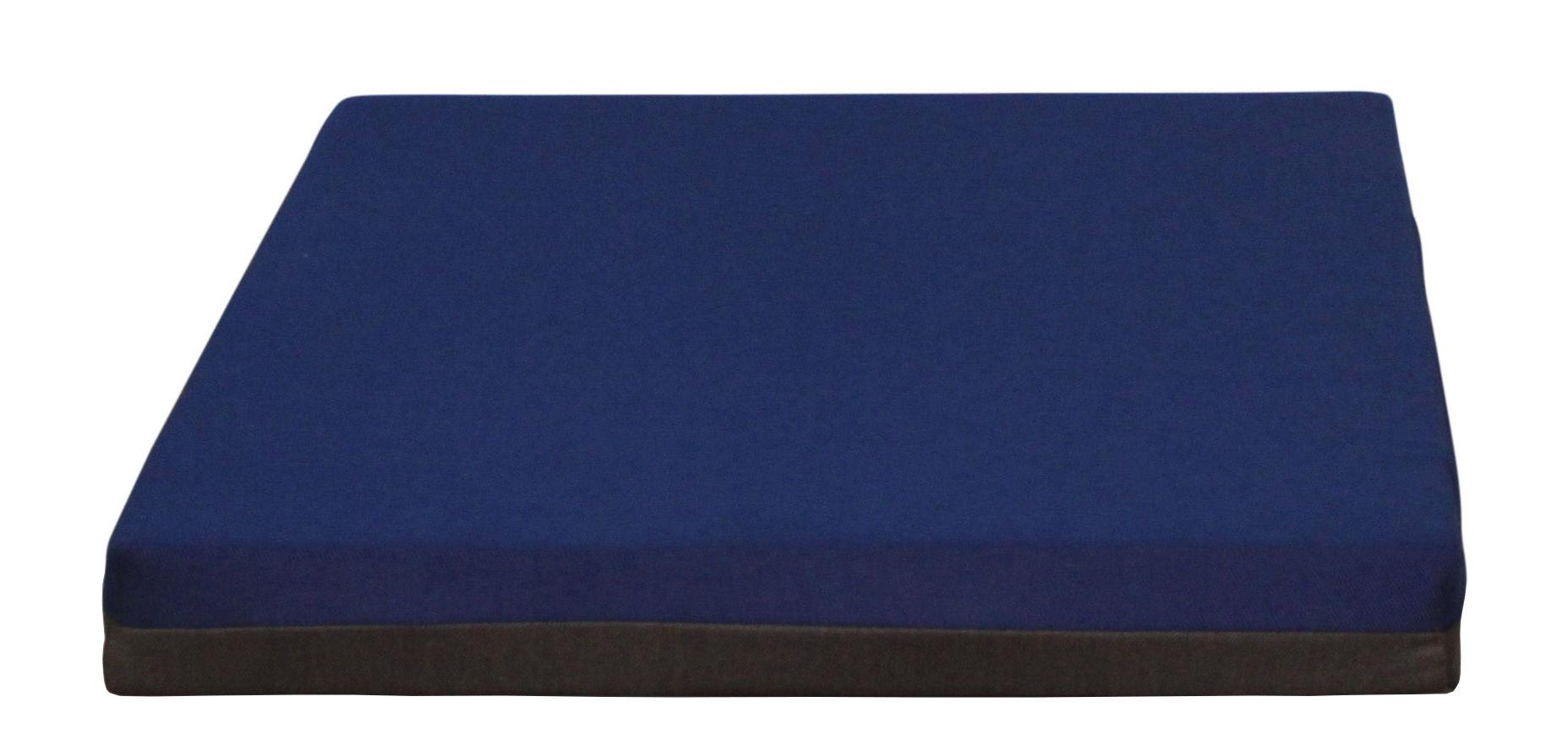 Mobilier - Compléments d'ameublement - Matelas Connect / Small - Avec aimants - Trimm Copenhagen - Bleu nuit / Chocolat - Mousse, Tissu Acrisol Twitell
