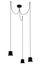 Gio Light Cluster Pendelleuchte / LED - 3 Lampenschirme - Artemide