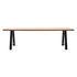 Matteo Rectangular table - / 285 x 100 cm - Teak & metal by Vincent Sheppard