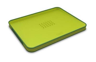 Küche - Einfach praktisch - Cut & Carve Schneidebrett groß - schräge Oberfläche - Joseph Joseph - Grün - Polypropylen