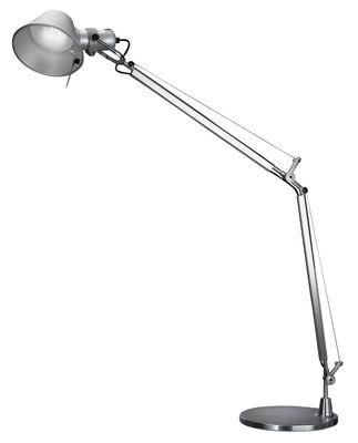 Lighting - Table Lamps - Tolomeo LED Table lamp by Artemide - Aluminium - Aluminium