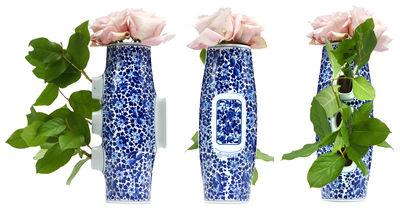 Vase Delft Blue 4 - Moooi blanc,bleu en céramique