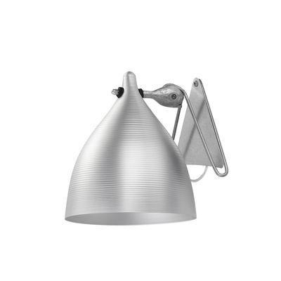 Lighting - Wall Lights - Cornette Wall light - In aluminium by Tsé-Tsé - Aluminium - Anodized aluminium