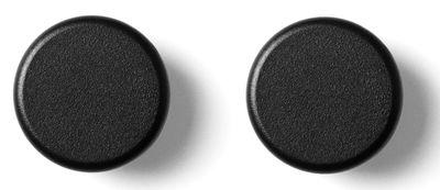 Möbel - Garderoben und Kleiderhaken - Wandhaken / 2er-Set - Menu - Schwarz - Stahl