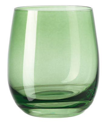 Tableware - Wine Glasses & Glassware - Sora Whisky glass - H 10 cm by Leonardo - Green - Glass