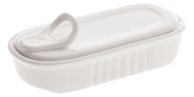 Küche - Einfach praktisch - Estetico quotidiano Behälter für Zahnstocher - Seletti - Weiß - Zahnstocherbehälter - Porzellan