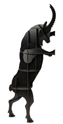 Bibliothèque Fausto H 205 cm Ibride noir en bois