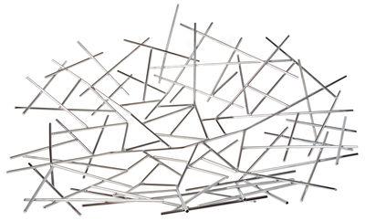 Arts de la table - Corbeilles, centres de table - Centre de table Blow up /67 x 64 cm - Alessi - Acier - Acier inoxydable