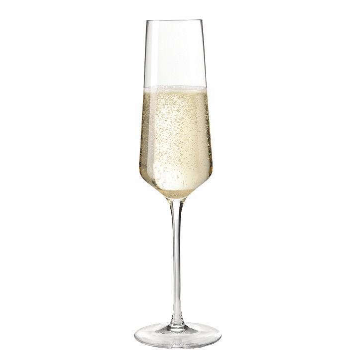 Tableware - Wine Glasses & Glassware - Puccini Champagne glass by Leonardo - Transparent - Teqton glass