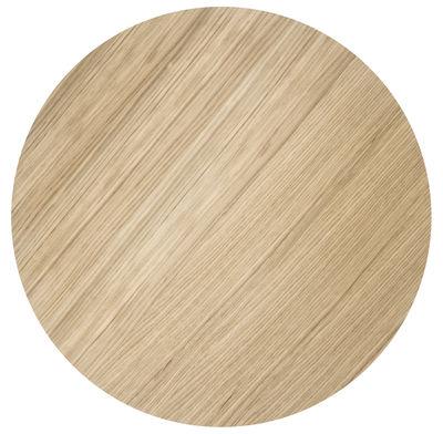 Couvercle pour corbeille Wire / Large - Ø 60 cm - Ferm Living bois naturel en bois