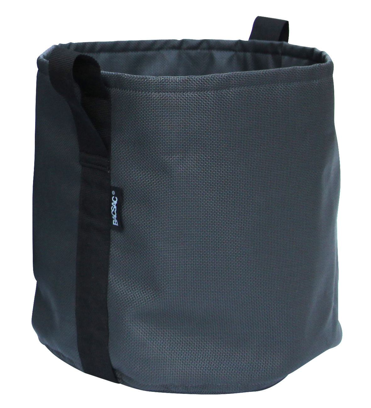 Outdoor - Pots & Plants - Batyline® Flowerpot - Outdoor - 25 L by Bacsac - Black asphalt - Batyline® fabric