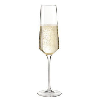 Flûte à champagne Puccini / 28 cl - Leonardo transparent en verre