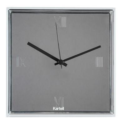 Horloge murale Tic & Tac / à poser ou suspendre - Kartell métal en matière plastique