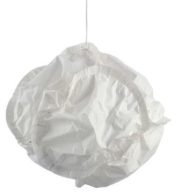 Lighting - Pendant Lighting - Cloud Pendant by Belux - Ø 48 cm - Cream - Polyester