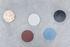 Piano/vassoio Five Circles - / Multifunzione - Ø 21 cm / Marmo & Polietilene di valerie objects