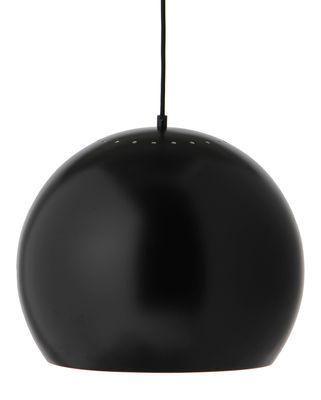 Luminaire - Suspensions - Suspension Ball Large / Ø 40 cm - Réédition 1968 - Frandsen - Noir mat - Métal verni