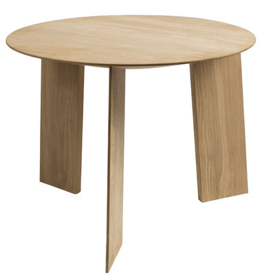 Mobilier - Tables basses - Table basse Elephant / Ø 50 cm - Hay - Chêne naturel - Chêne massif savonné
