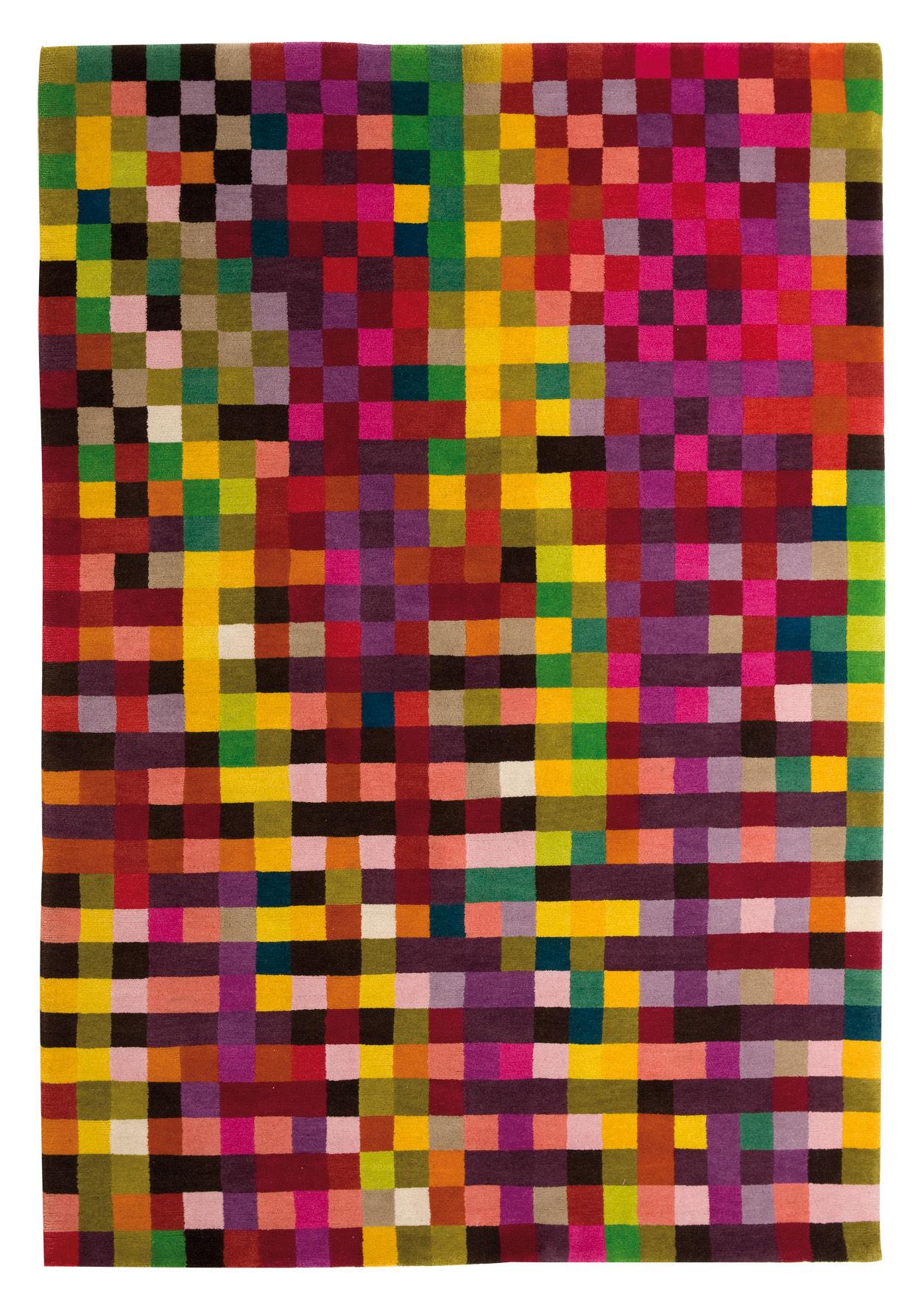 Mobilier - Tapis - Tapis Digit 1 170 x 240 cm - Nanimarquina - Tons vifs / 170 x 240 cm - Laine