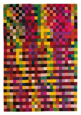 Möbel - Teppiche - Digit 1 Teppich 170 x 240 cm - Nanimarquina - Leuchtende Farben / 170 x 240 cm - Wolle