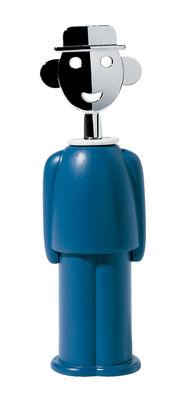 Tire-bouchon Sandro M. - A di Alessi bleu en métal