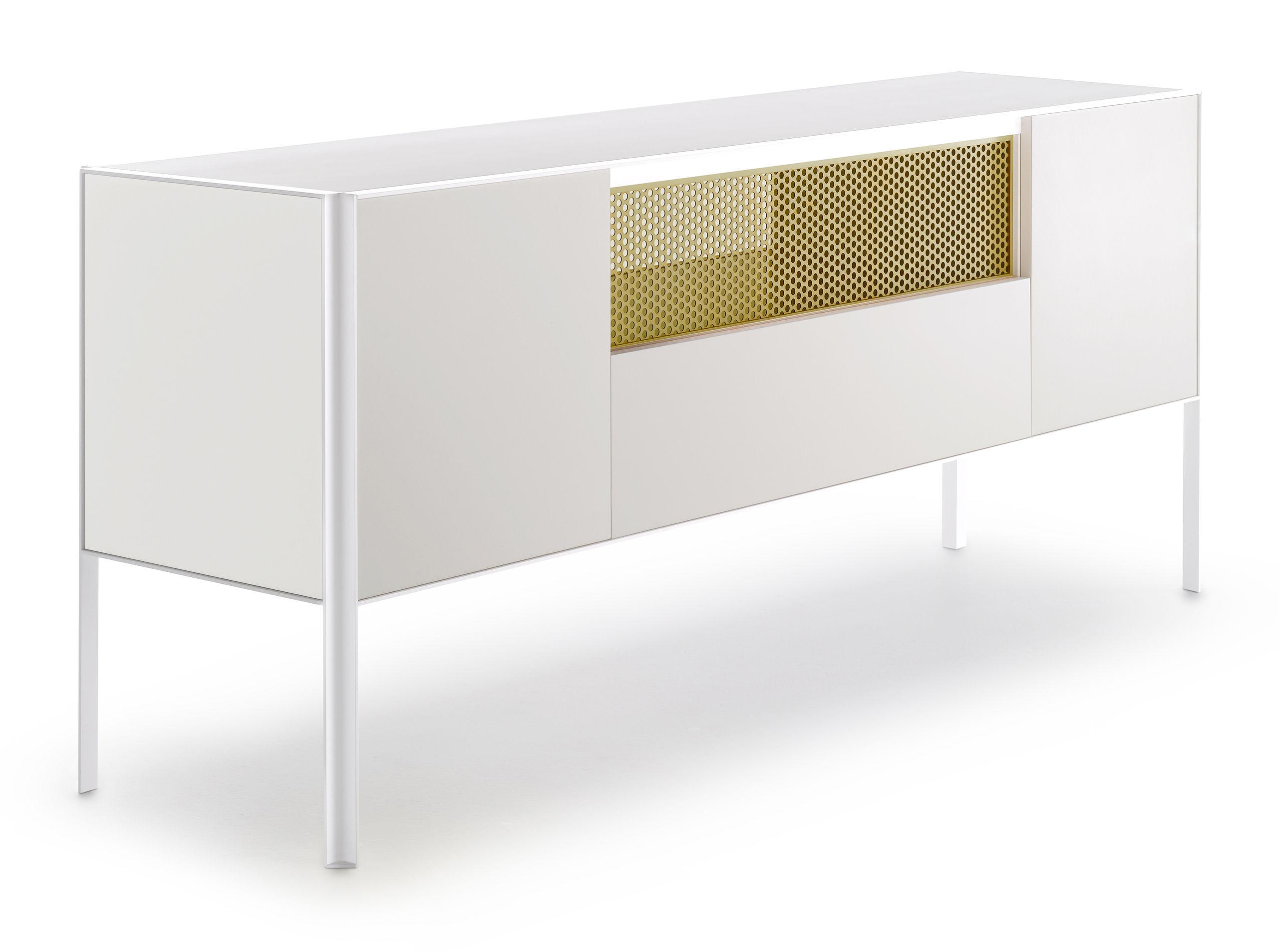 Anrichte Heron Von Mdf Italia Weiss Gelb Made In Design