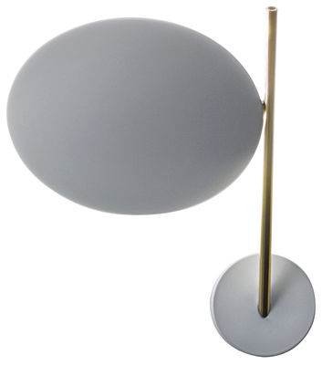 Applique Lederam WB1 / LED - H 25 cm - Catellani & Smith blanc,or en métal