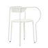 Huggy Armchair - / Set of 2 - Aluminium by Maiori