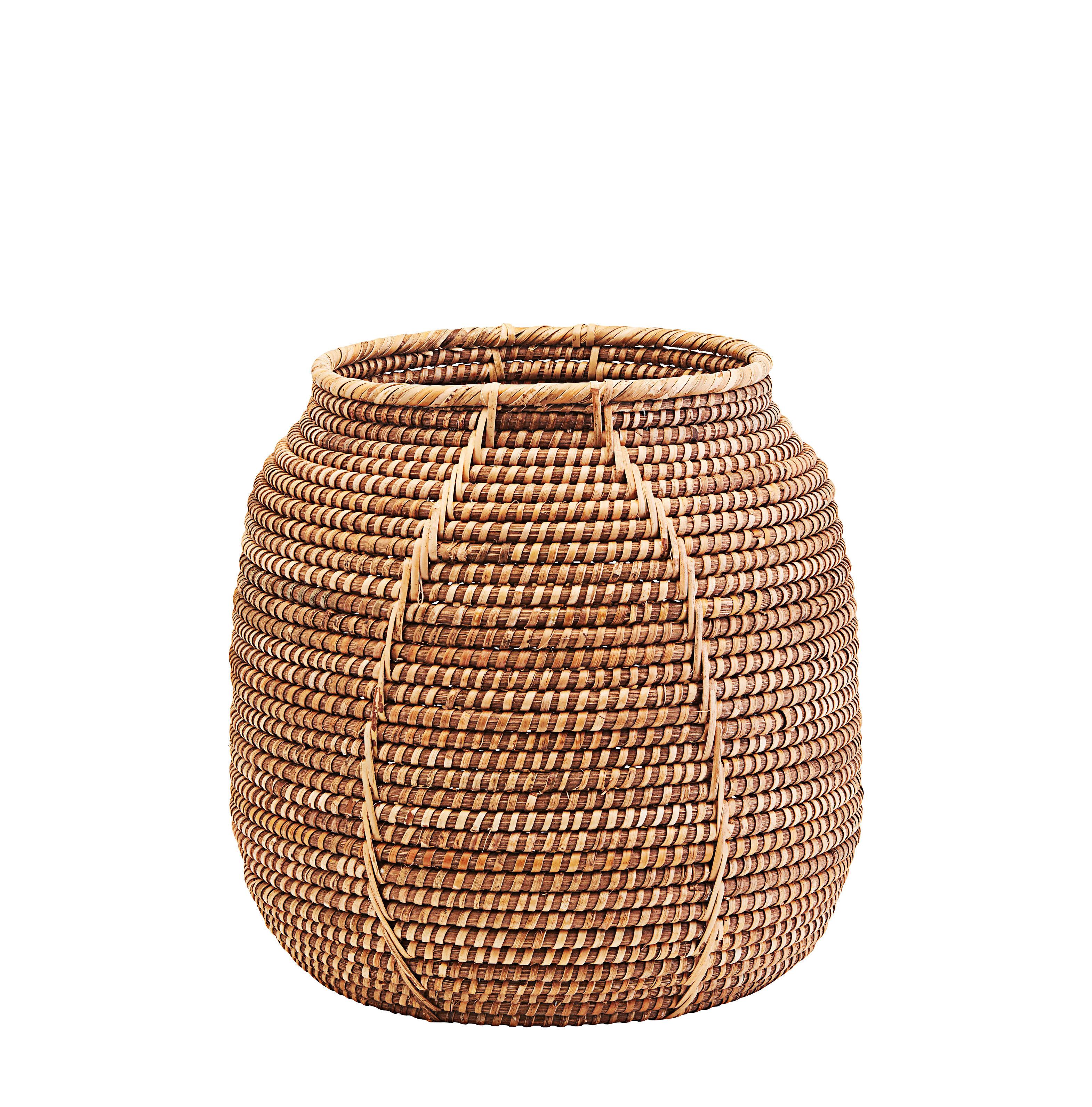Decoration - Boxes & Baskets - Azeema Basket - / Rattan - Ø 38 x H 37 cm by House Doctor - Ø 38 x H 37 cm / Rattan - Rattan