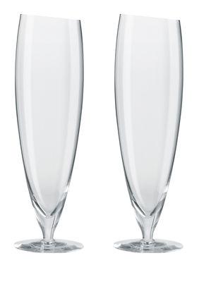 Tavola - Bicchieri  - Bicchiere da birra - /Set da 2 - 50 cl di Eva Solo - Trasparente - Vetro soffiato a bocca