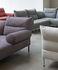 Canapé d'angle Pandarine / 3 places - L 263 cm /  1 accoudoir + dossier inclinables - Hay
