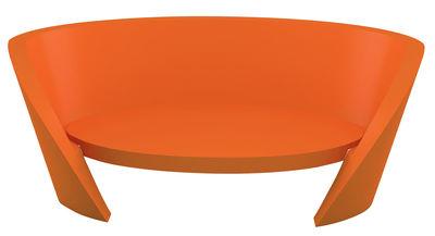 Canapé Rap / L 170 cm - Slide orange en matière plastique
