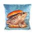 Toiletpaper Cushion - / Toad - 50 x 50 cm by Seletti