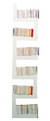 Mobilier - Etagères & bibliothèques - Etagère TwoSnakes lot de 2 - La Corbeille - Blanc - MDF laqué