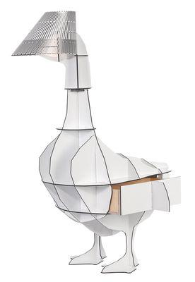 Lampe à poser Junon / Chevet - Ibride blanc en matière plastique