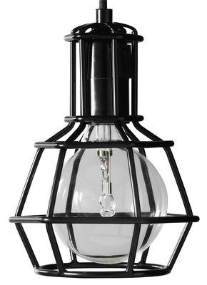 Work Lampe / zum Hinstellen, Hinlegen oder Aufhängen - limitierte Auflage - Design House Stockholm - Schwarz