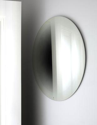 Mobilier - Miroirs - Miroir mural Fading Ø 55 cm - ENOstudio - Blanc - Argent, Verre