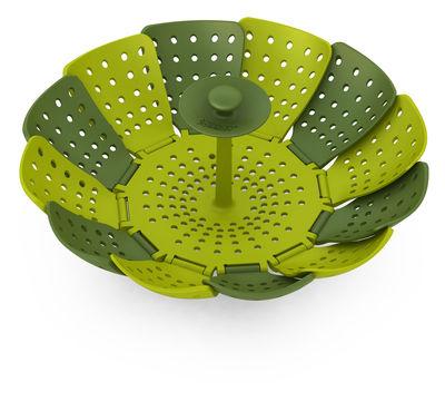 Cuisine - Ustensiles de cuisines - Panier vapeur Lotus - Joseph Joseph - Vert & Vert clair - Polypropylène, Silicone