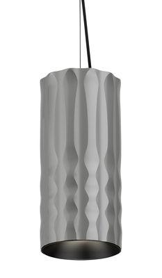 Lighting - Pendant Lighting - Fiamma Pendant - LED - Ø 13 cm by Artemide - Grey - Metal