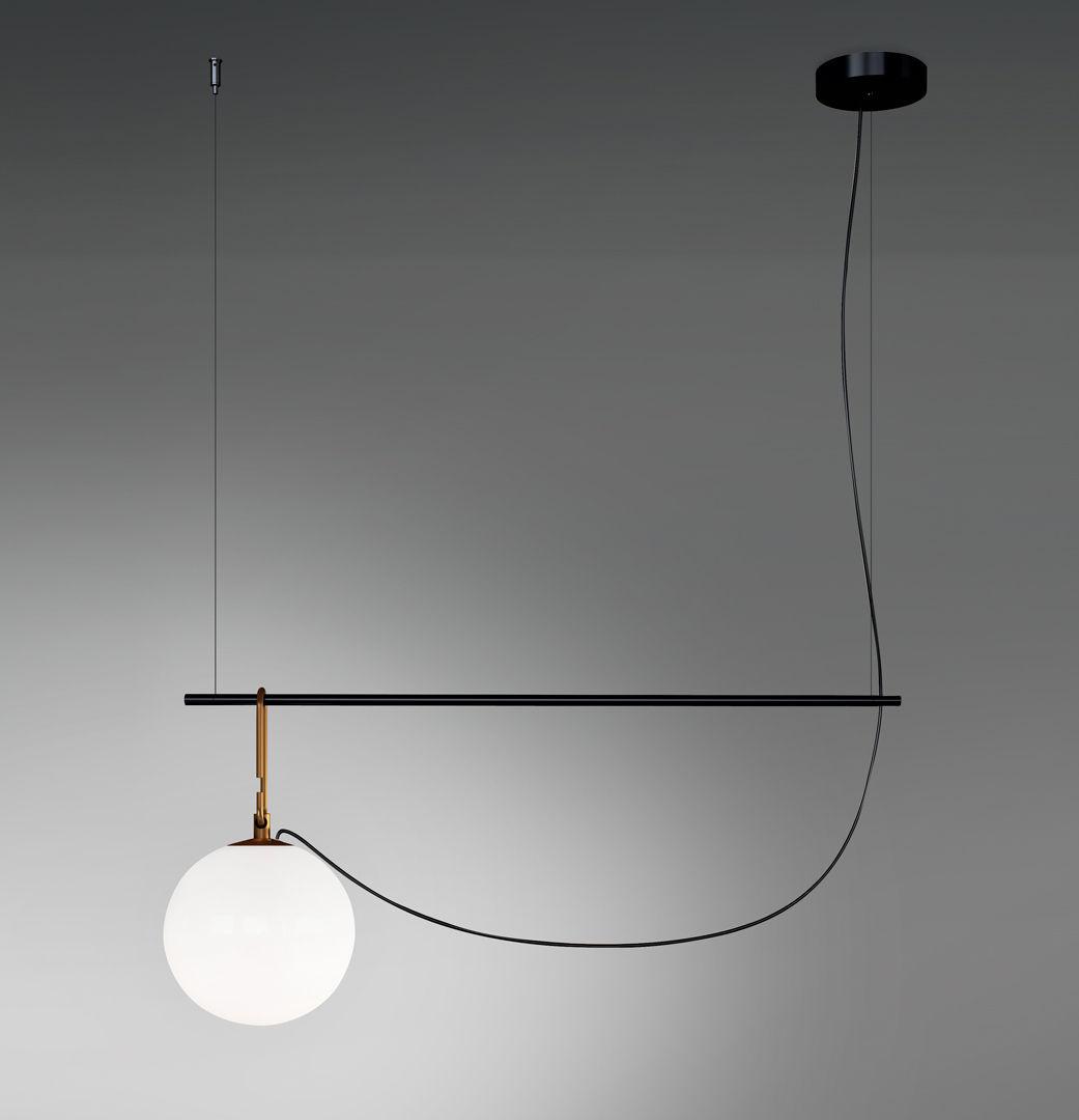 Pendelleuchte nh S1 von Artemide   Schwarz/Gold   Made In Design
